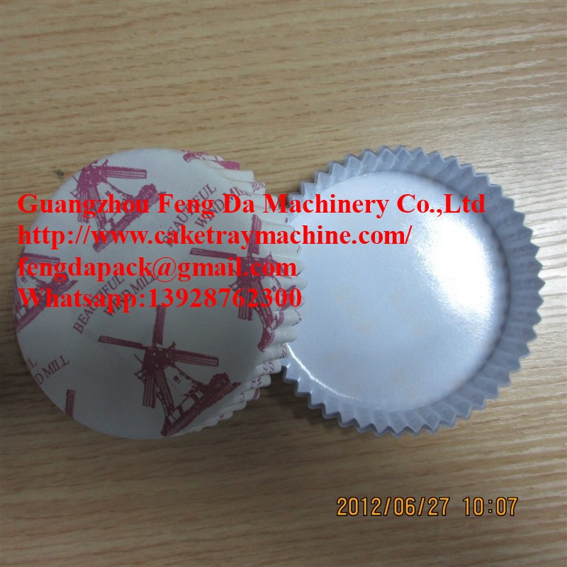 Industrial Cake Tray Forming Machine Disposable Paper Plate Making Machine